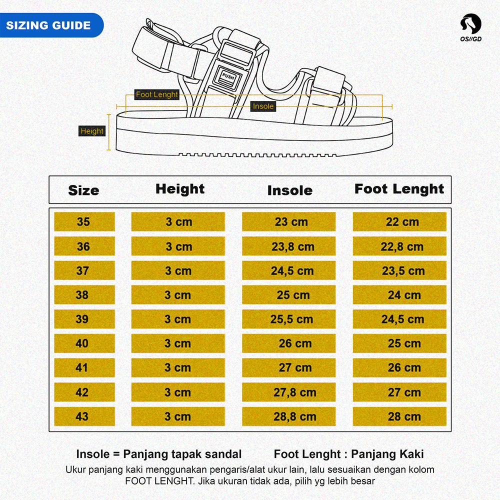 Size Chart Basic